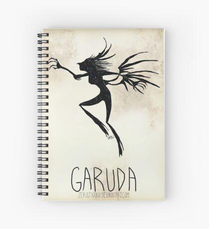 Tim Burton Garuda Spiral Notebook