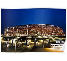 FNB Stadium - National Stadium (Soccer City) Poster