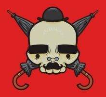 Gentleman Skull One Piece - Short Sleeve