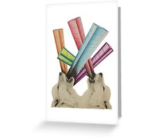 Howling City Greeting Card
