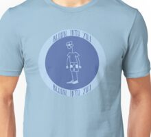 Bloom Into You - Blue Unisex T-Shirt