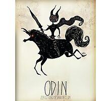 Tim Burton Odin Photographic Print