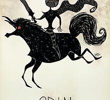 Tim Burton Odin by zerojigoku
