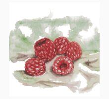 Ripe Red Radberries 2 Kids Tee