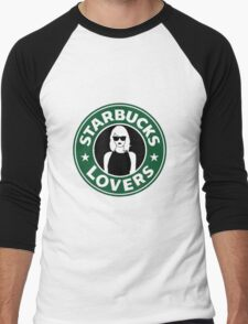 ts starbucks lovers 2 Men's Baseball ¾ T-Shirt