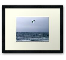 A Breezy Day Framed Print