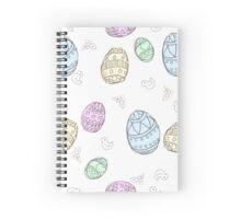 Doodle Easter Egg Spiral Notebook