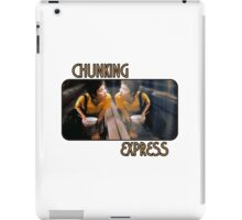 Chunking X Press iPad Case/Skin