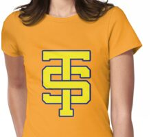 TS cheerleader logo Womens Fitted T-Shirt