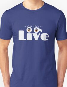 Semi colon live suicide awareness geek funny nerd T-Shirt