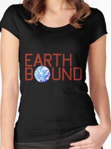 EarthBound Beginnings - Title Screen Women's Fitted Scoop T-Shirt