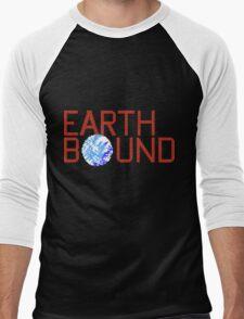 EarthBound Beginnings - Title Screen Men's Baseball ¾ T-Shirt