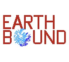 EarthBound Beginnings - Title Screen Photographic Print