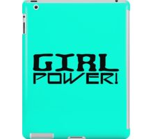 Spice girls girl power geek funny nerd iPad Case/Skin