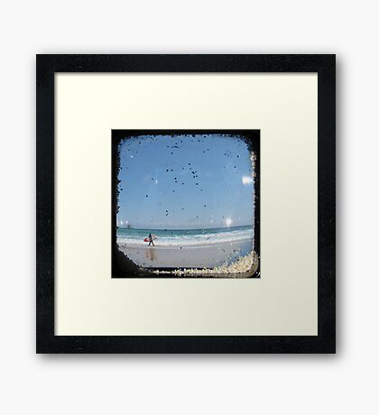 Surf and Sand - TTV Framed Print