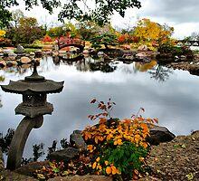 The Lantern, Osaka Garden by James Watkins