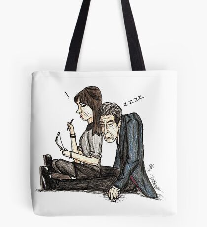 Tired Time Lord Tote Bag