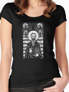 the bookkeeper Women's Fitted Scoop T-Shirt