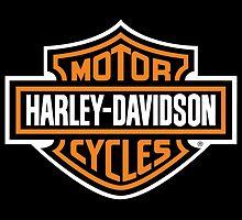 Harley Davidson (white border) by Asdrubal Pocinho