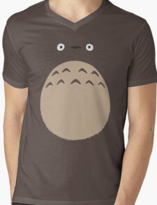My Neighbor Totoro - Face and Chest Mens V-Neck T-Shirt