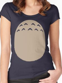 My Neighbor Totoro - Chest Women's Fitted Scoop T-Shirt