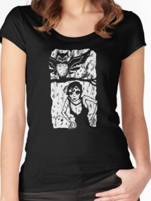 You Haunt Me Women's Fitted Scoop T-Shirt