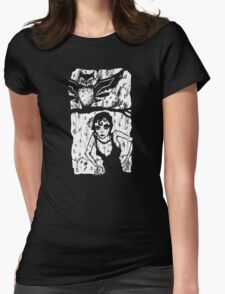 You Haunt Me Womens Fitted T-Shirt