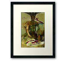 Tarot: The Magus Framed Print