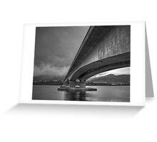 Bowen Bridge, Hobart Greeting Card