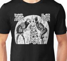 dueling clowns Unisex T-Shirt