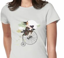 night riders Womens Fitted T-Shirt