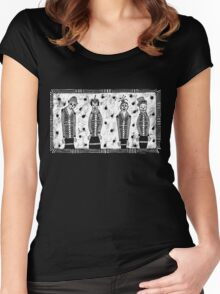 The Usual Suspects Women's Fitted Scoop T-Shirt