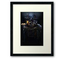 Tarot: The Emperor Framed Print