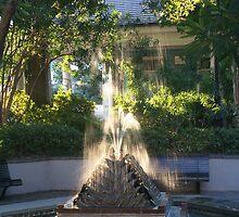 Fountain at Latrobe's Waterworks by Allen Lucas