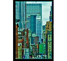 View from an office Photographic Print