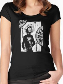 Disperse the Darkness Women's Fitted Scoop T-Shirt