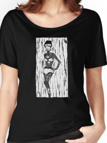 Tattoo Lady Women's Relaxed Fit T-Shirt