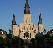 St. Louis Cathedral, New Orleans by Allen Lucas