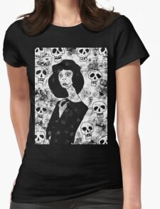 live in dread Womens Fitted T-Shirt