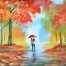 Autumn walk by gordonbruce