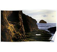 Gull Rock Poster