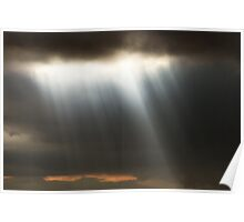 Moody Clouds! Poster