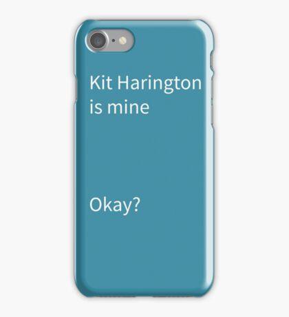 Kit Hartingon  iPhone Case/Skin