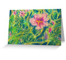 Entangled (Pastel) Greeting Card