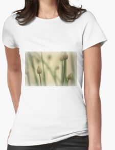 O Sweet Chive Buds! Womens Fitted T-Shirt