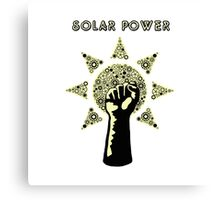 Solar Power to the People! Canvas Print