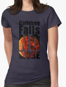 Gallifrey - No More - Simple Typography Collection T-Shirt
