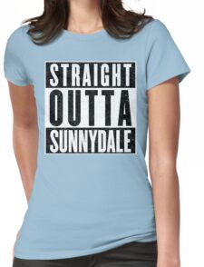 Sunnydale Represent! Womens Fitted T-Shirt