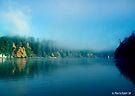 Puget Sound Fog by Marcia Rubin