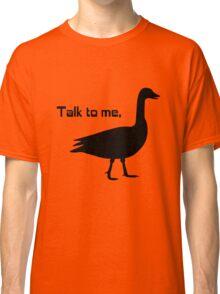 Talk to me goose geek funny nerd Classic T-Shirt